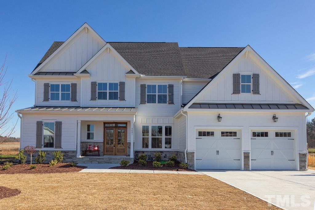1601 Sweetclover Drive, Perry Farms, Wake Forest NC (Homesite 3) - $590,000