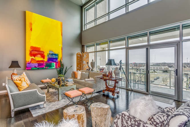Downtown living at its best!!  WaterWalk Place Condos!!  Wichita all grown up! From the view of the