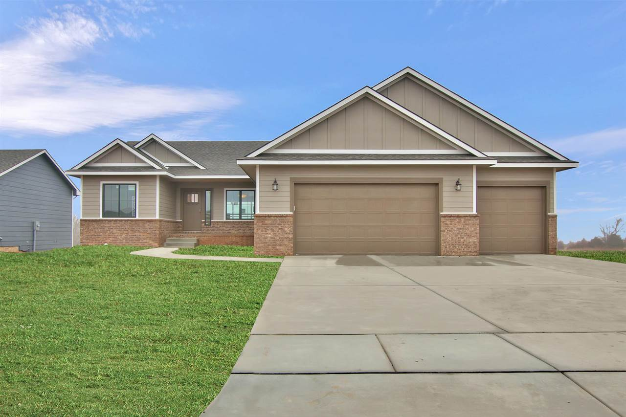 Lots of upgrades on this new build residence. High efficiency furnace and air conditioning units, granite counter-tops, covered deck, 3 car garage. As of 10/11/2019 buyer can still pick paint colors and flooring.