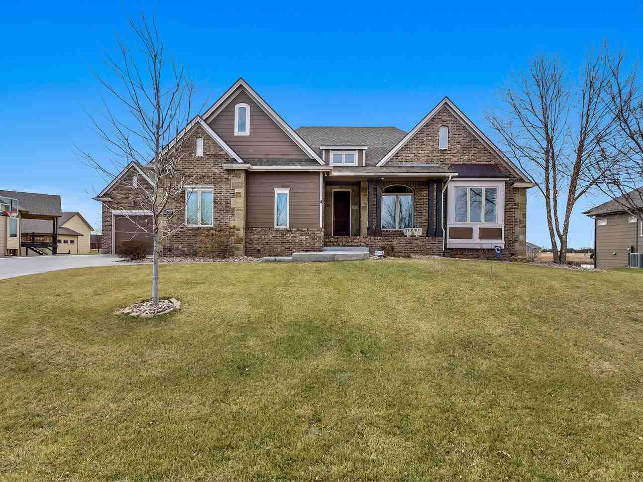 This Home Has it all!  If you are looking for a Move-in Ready home on a large lake lot in Goddard Sc