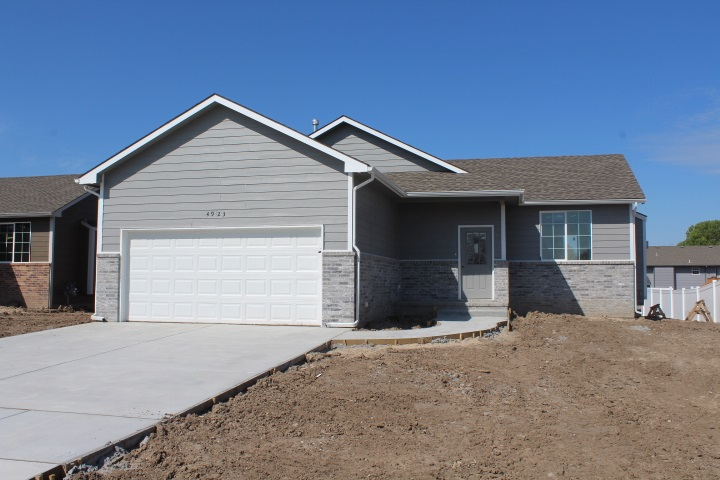 **BRAND NEW HOME** IN NEWEST ADDITION IN WICHITA. 5 BEDROOMS 3 BATHROOMS 2 CAR GARAGE FULL FINISHED