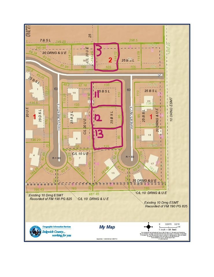For Sale: LOT 12  BLOCK 1, Mount Hope KS
