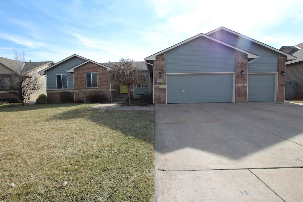 Beautiful ranch home in Goddard/Eisenhower Schools. 4 bedroom, 2 bathrooms & 3 car garage with overs
