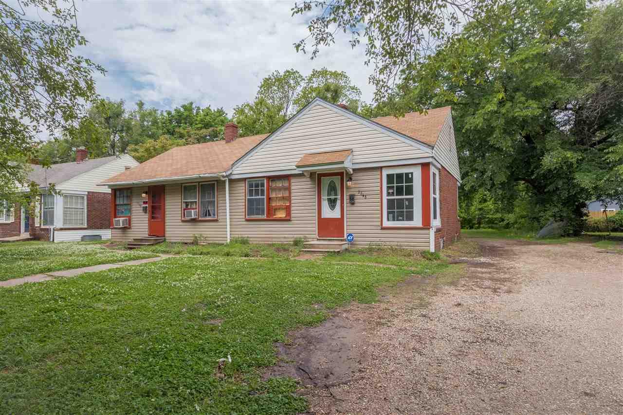 For Sale: 2646 & 2644 E Grail St, Wichita KS