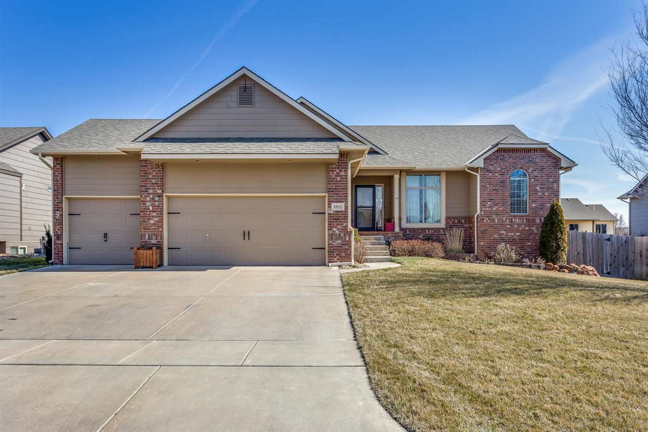 Welcome to this inviting home in Maize! With one owner and well maintained, this home provides a pea