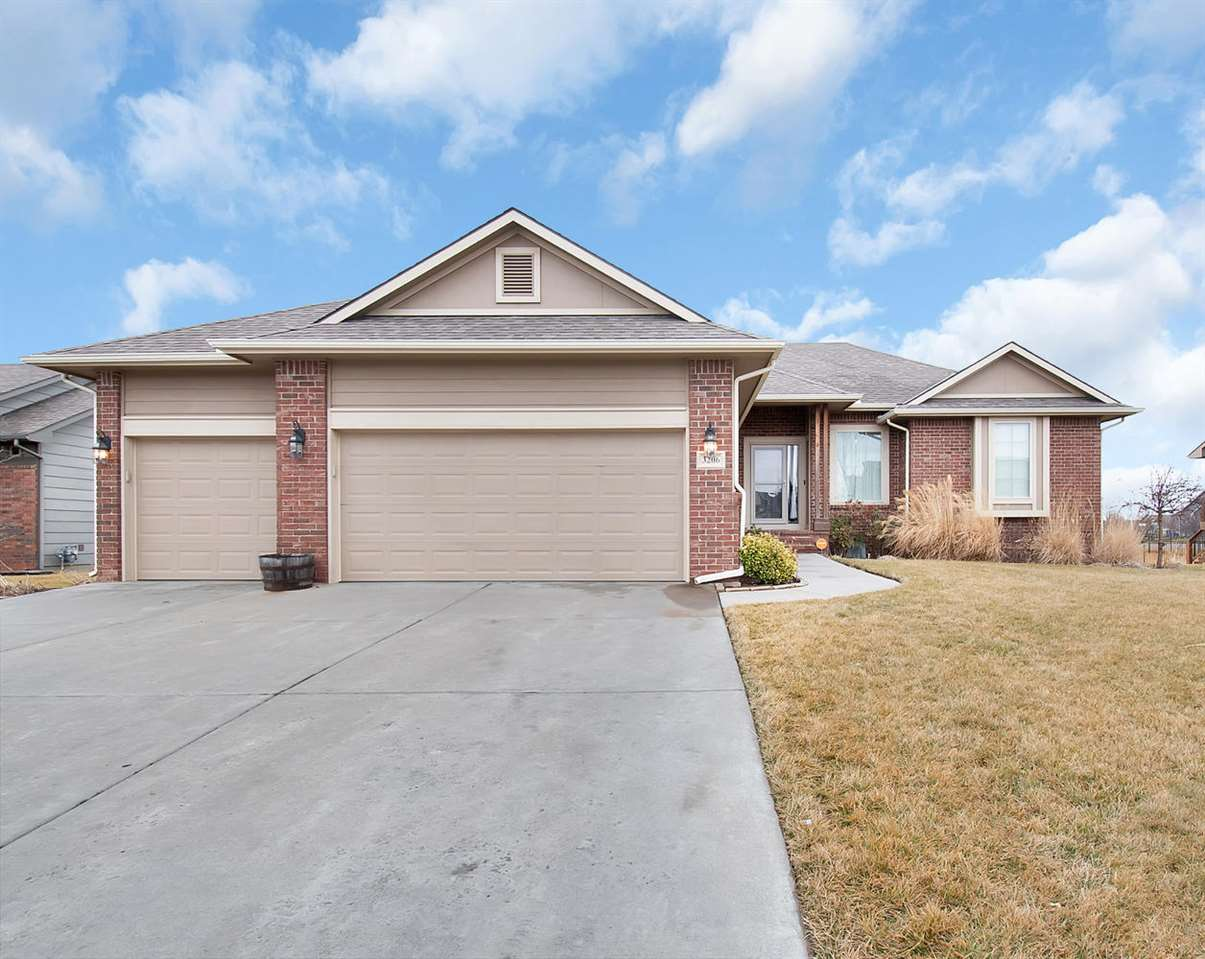 You won't want to miss this beautiful home located in the Maize school district!  As you walk in the