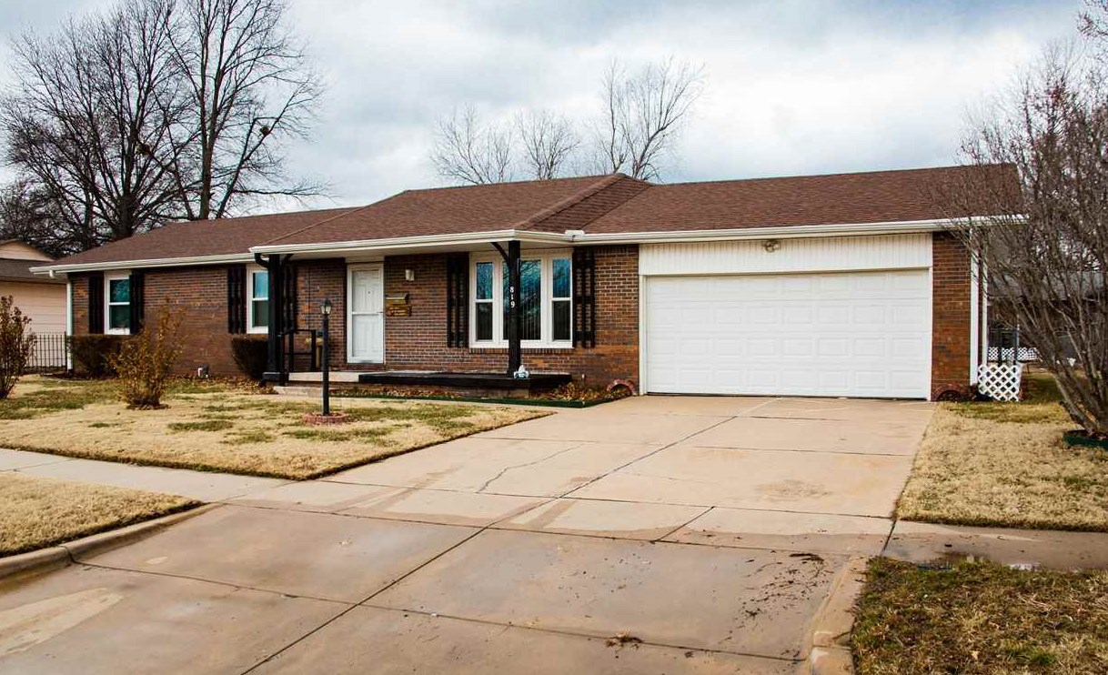 Look no more - Here's a spacious mid-century home with 3 bedrooms, 3 baths, 2 car garage, main floor