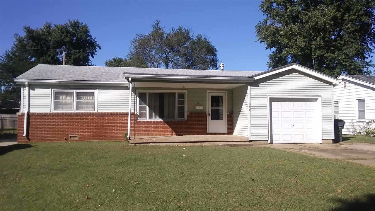 Great Affordable Ranch Home in Haysville with Nice 2 Car Detached Garage (26x22) in Fenced Backyard