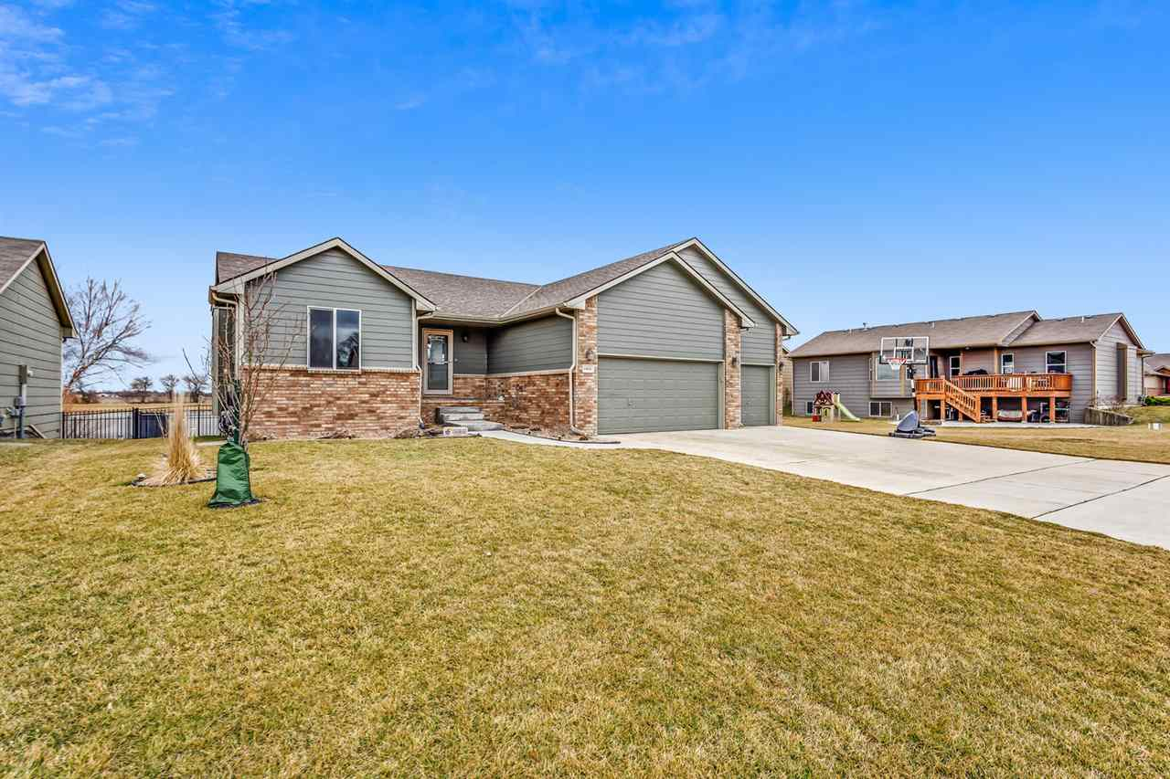Welcome Home!  You will love coming home to this move-in ready ranch situated on a beautifully lands