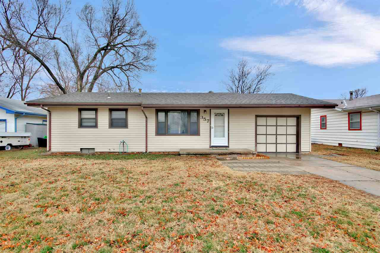 You must see this adorable ranch style home with 3 bedrooms on the main level. Living room has origi
