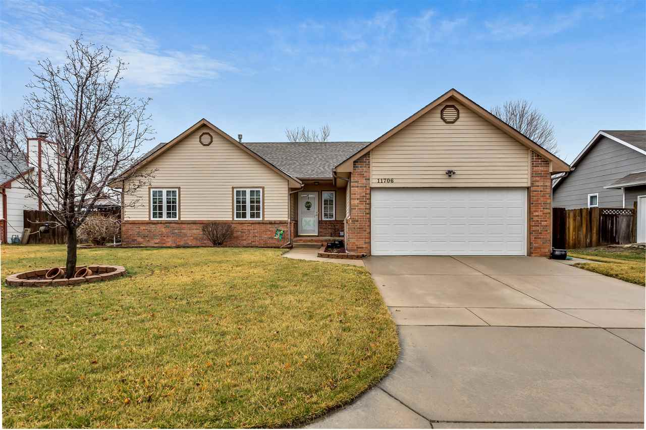 Welcome home to this darling 4-bedroom, 2.5 bath, move-in ready ranch complete with vaulted ceilings
