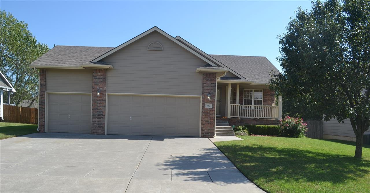 A Ranch Home, with a Full View-Out Finished Lower Level. Everything under One Roof! 3 Car Garage, 4