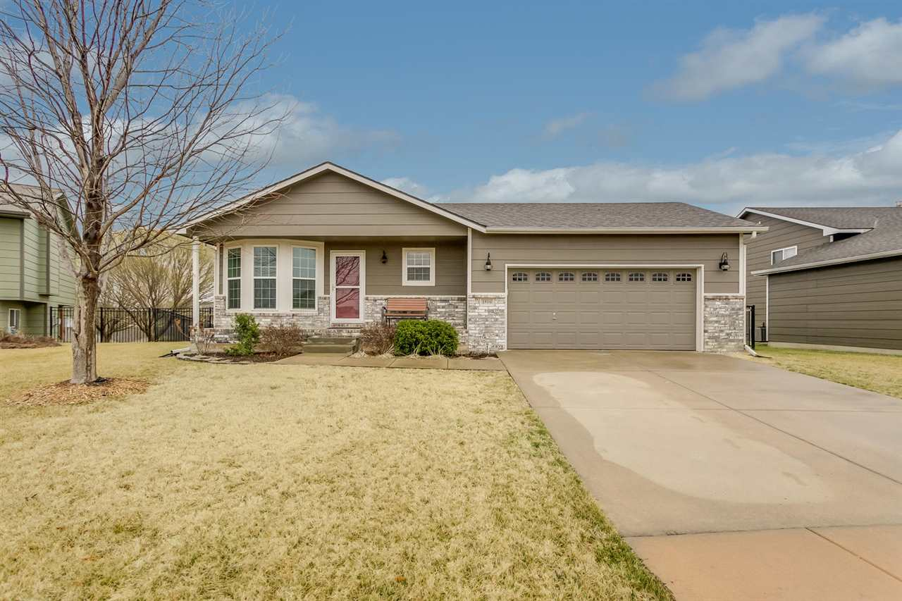 PICTURE PERFECT HOME IN THE MAIZE SCHOOL DISTRICT. THIS METICULOUSLY MAINTAINED HOME FEATURES A GREA