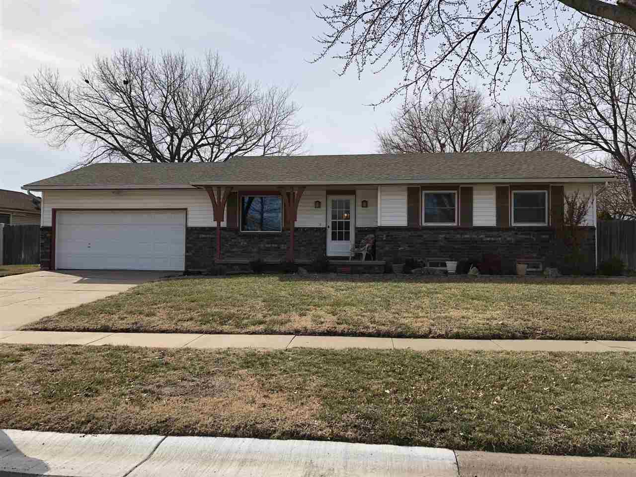 Well maintained 1978 ranch home in Bel Aire, with 3 Bedrooms & 2 bathrooms on the main floor. The ho