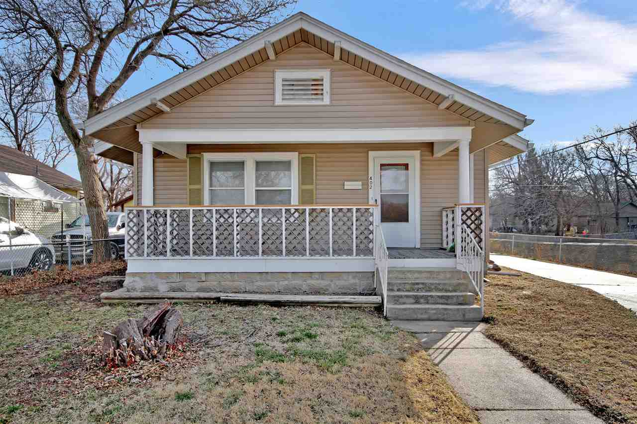 Updated and very clean 2BR/1BA perfect for either homebuyer or investor.   A storybook front porch w