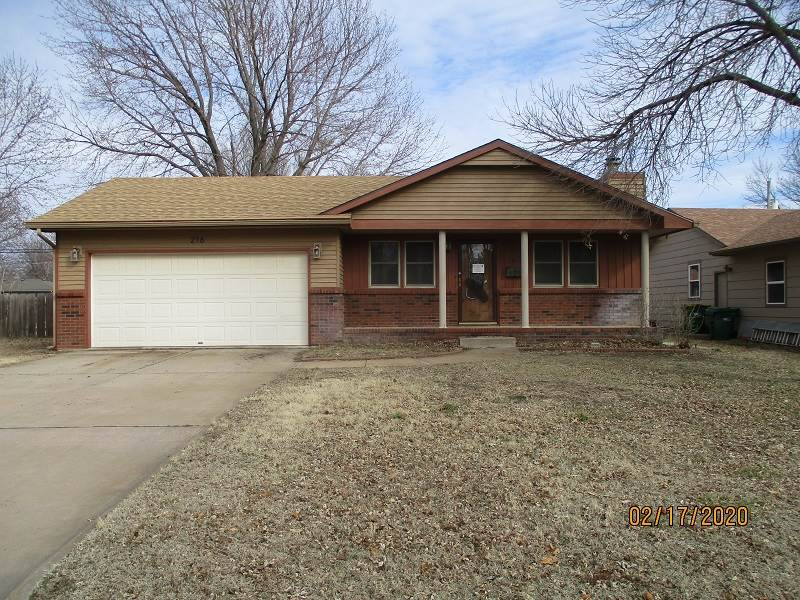 Enjoy the small town of Valley Center just north of a big city* This home has four bedrooms, three b
