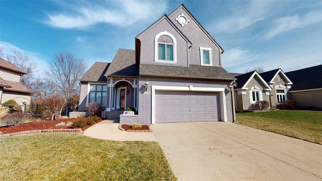 You will love this 3 bedroom 3.5 bath home located in Willowbend Estates Addition in Northeast Wichi