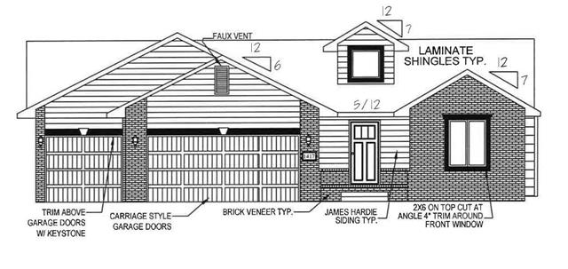 For Sale: 1417 N Orchid Ct., Andover KS