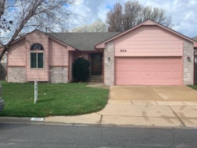 For Sale: 1843 S RED OAKS ST, Wichita KS