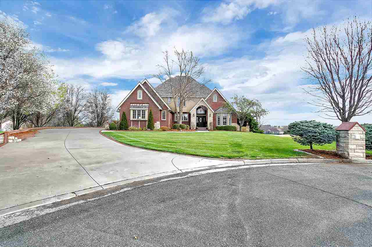 This one of a kind Estate in Winfield Ks will amaze you!! Golf course lot. 3 bedrooms, 3.5 bath with