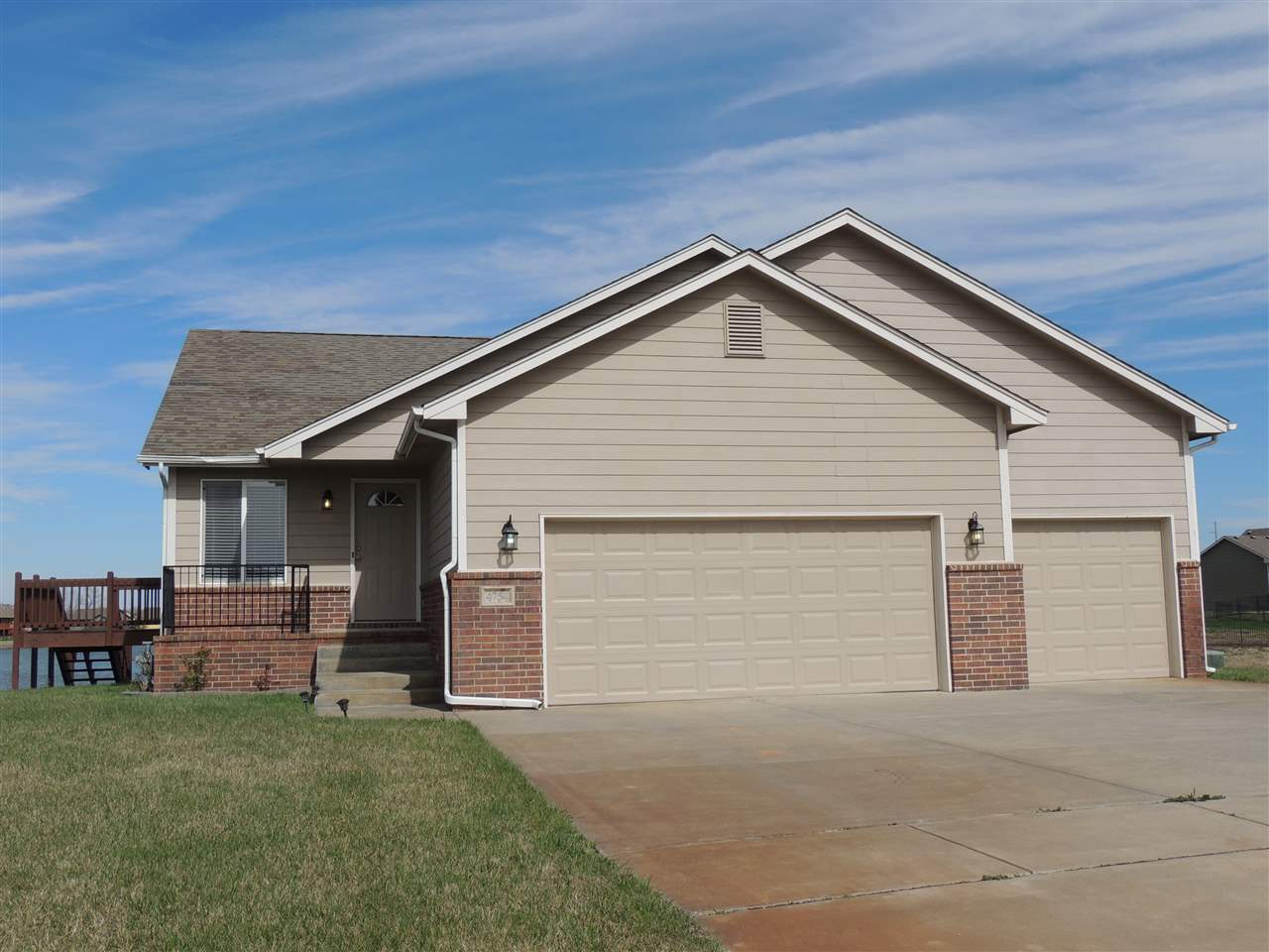 Well cared for home with 2 bedrooms, 2 baths, and a 3 car garage! The basement has been framed in an