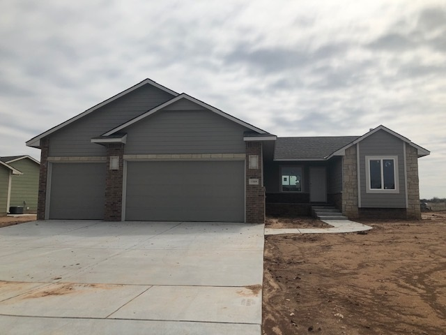 Come see the finished model of the same floor plan at 2029 Wheatland!  This home will be ready for m