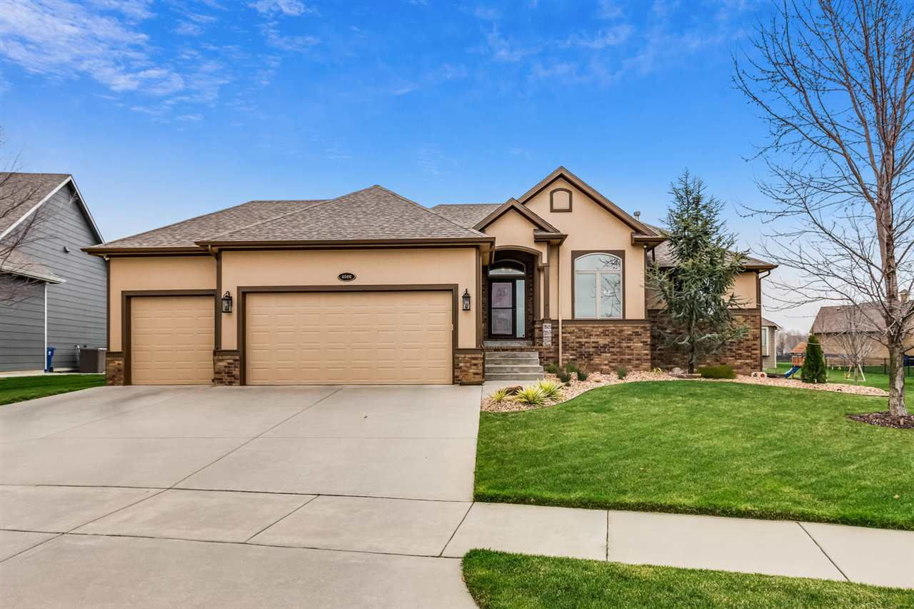 Don't miss out on this gorgeous well maintained Watercress home in the Maize South school district!