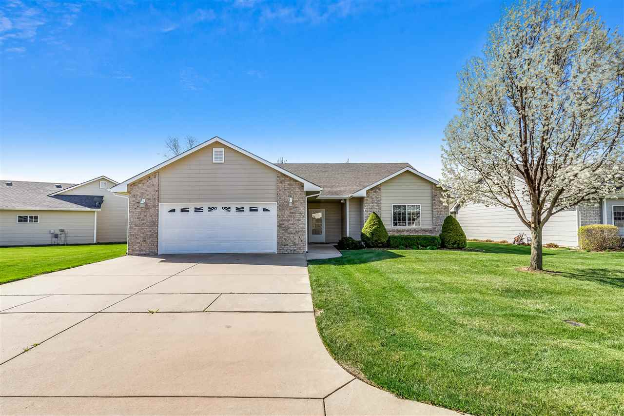 Looking for a beautiful low maintenance zero entry patio home in west Wichita? Look no further! This