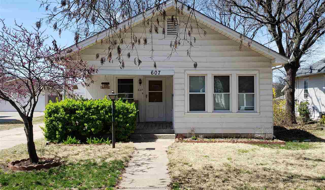 Cute home on a quiet street with easy access to all highways in Wichita. Check out the very large Ma