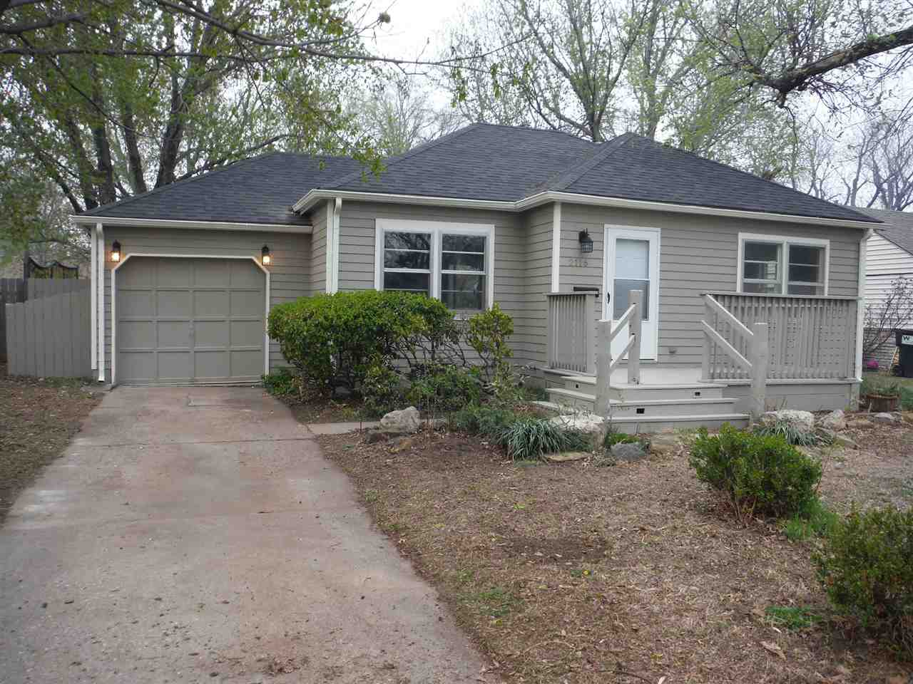 Remodeled 2 bedroom home with a basement and 1-car garage. Updated freshly painted interior and new