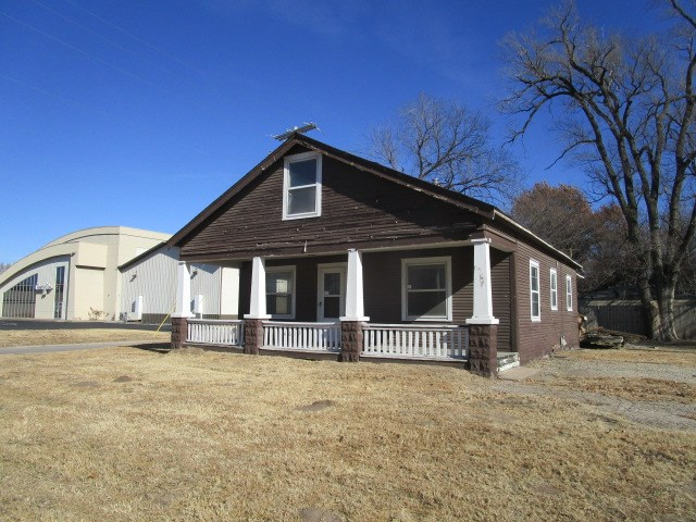 This charming bungalow features two bedrooms and one full bath.  Original hardwood floors and a larg