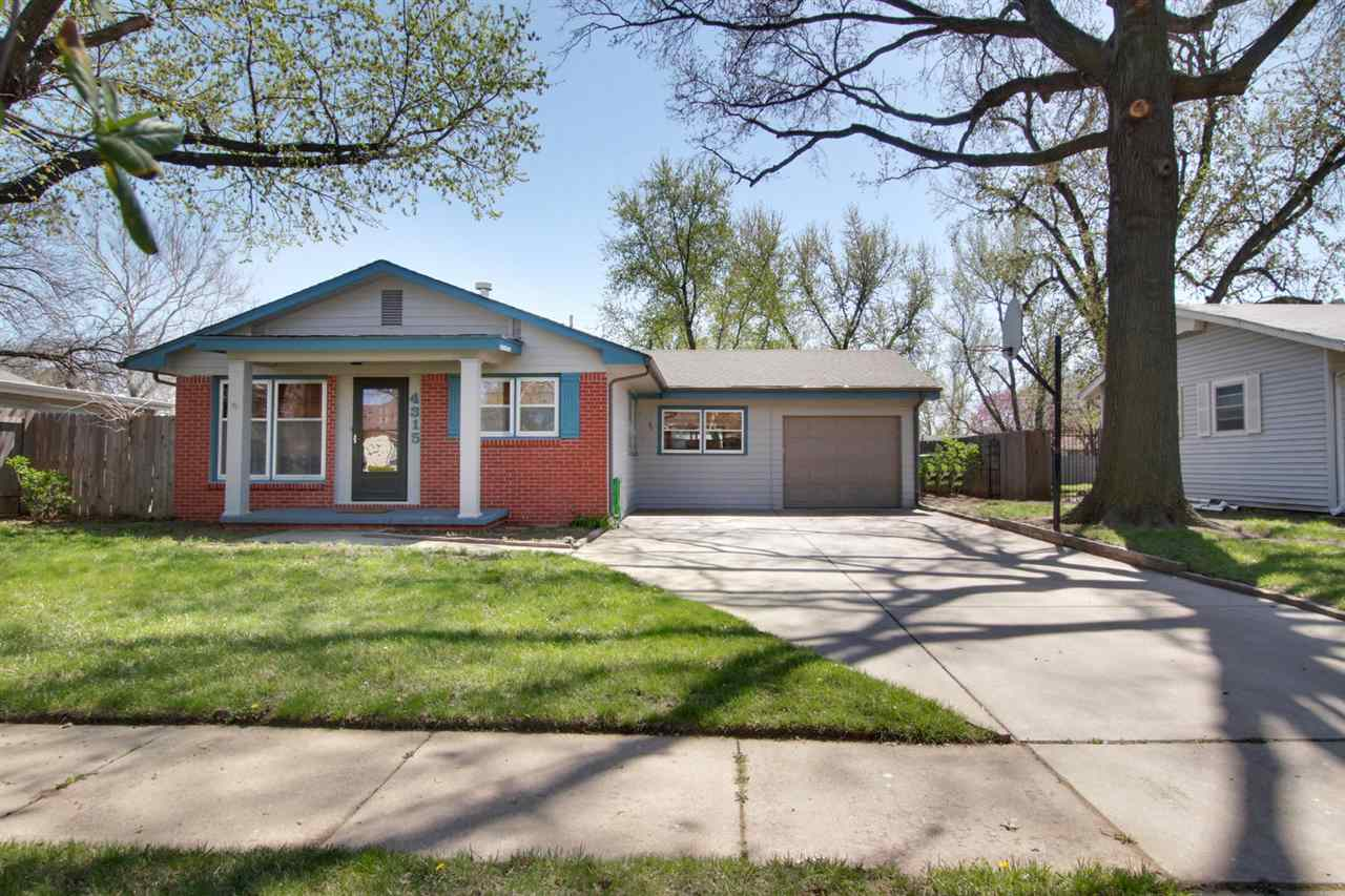 Looking for a move in ready home in west Wichita? Come tour this inviting ranch style home offering