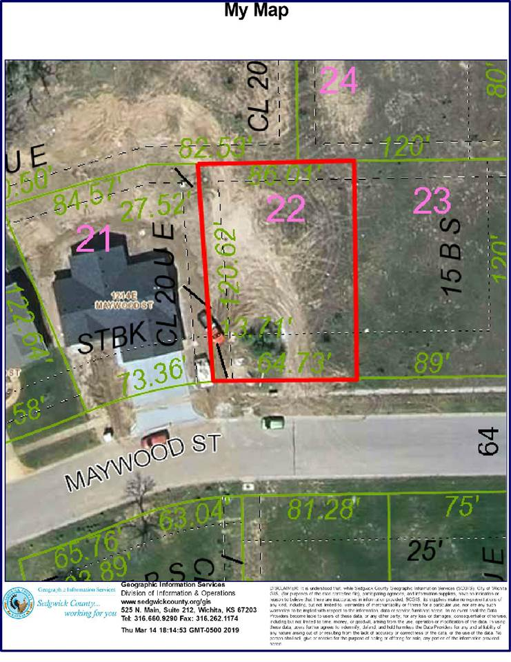 For Sale: 1218 E Maywood St, Wichita KS