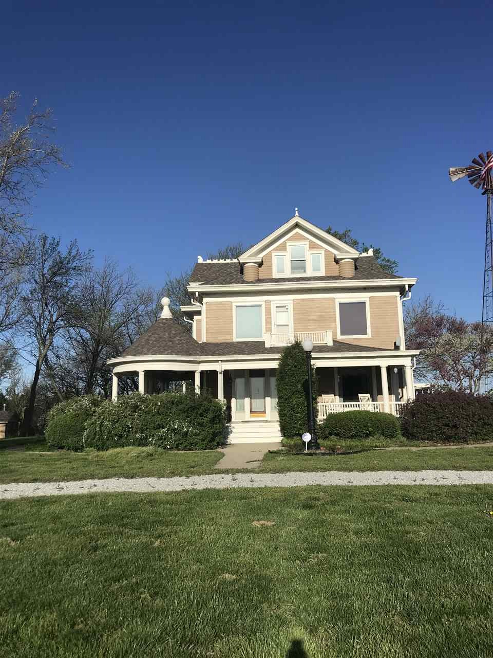 This is truly one of a kind property!!! The house is a beautiful Victorian style home with updates m