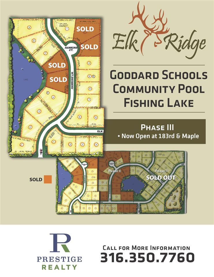 For Sale: 1501 E Elk Ridge Ave, Goddard KS