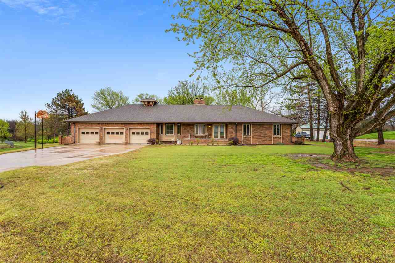 You will love this beautiful all brick ranch home situated on 1.13 acres in a quiet peaceful subdivi