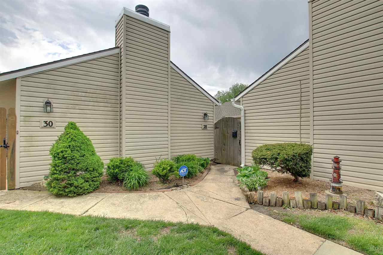 This 1863 sq. ft. 3 bedrooms 2 baths condo is a rare find in this community. Split  bedroom plan has private master with bath and walk-in closet. Patio off dinning room with plenty of room to enjoy cooking out in private. Nice size separate laundry room. There is a large Private gated front outdoor area perfect for the kids to run around and play in safety or just enjoy. Plus there is a and storm shelter club house and swimming pool for your new maintenance life style no lawn work, snow removal, and much more included in HOA dues.