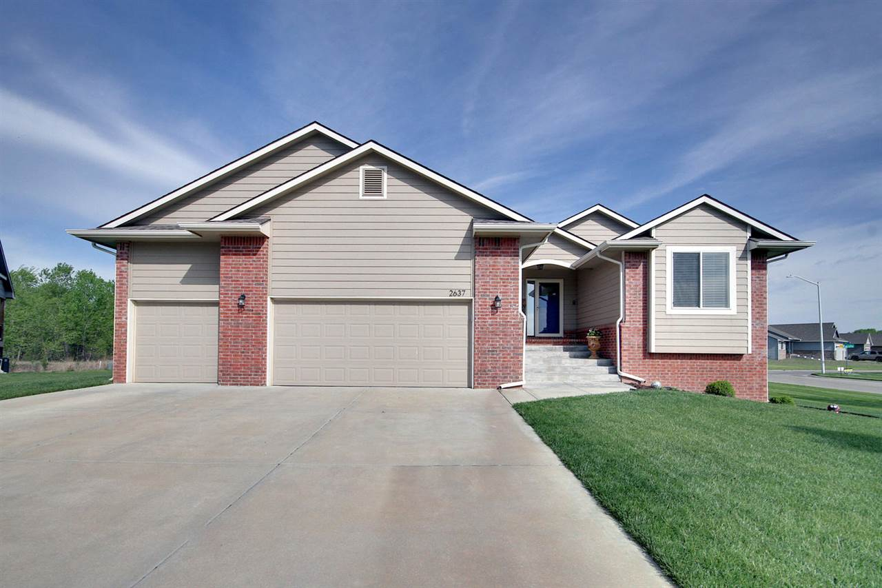everything in one place!! 5 br, 3 ba, open granite kitchen, pantry, and custom buffet built in. a FULL 3 car garage, perfect for our gear heads that want ample room to work on his project car. Corner lot with a lot of privacy. Cedar fence, sprinkler system and well. Pool only a few years old with an automatic cover. fresh paint and carpet...just like a model. This home is priced right and ready to go!!
