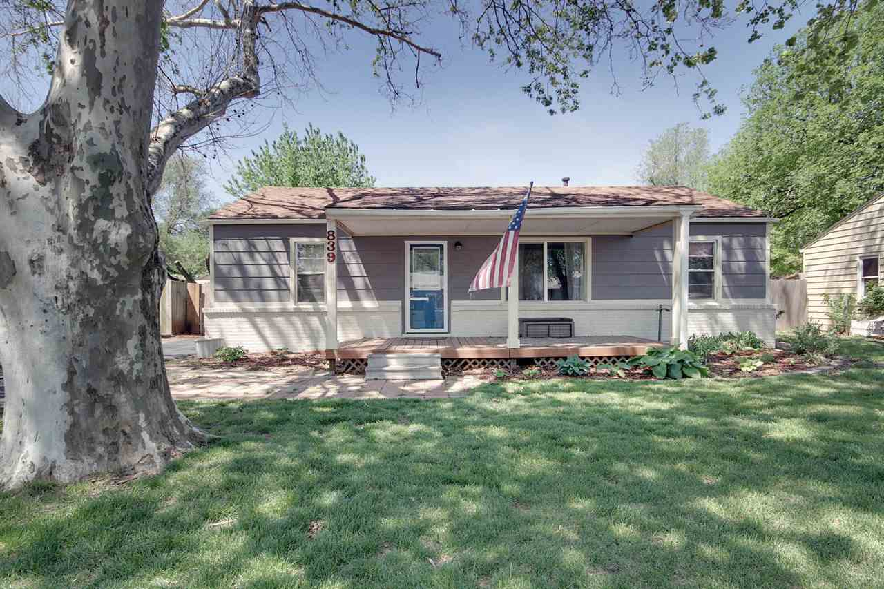 Welcome home to this great ranch style home with a Large Country Porch, fresh asphalt driveway and n