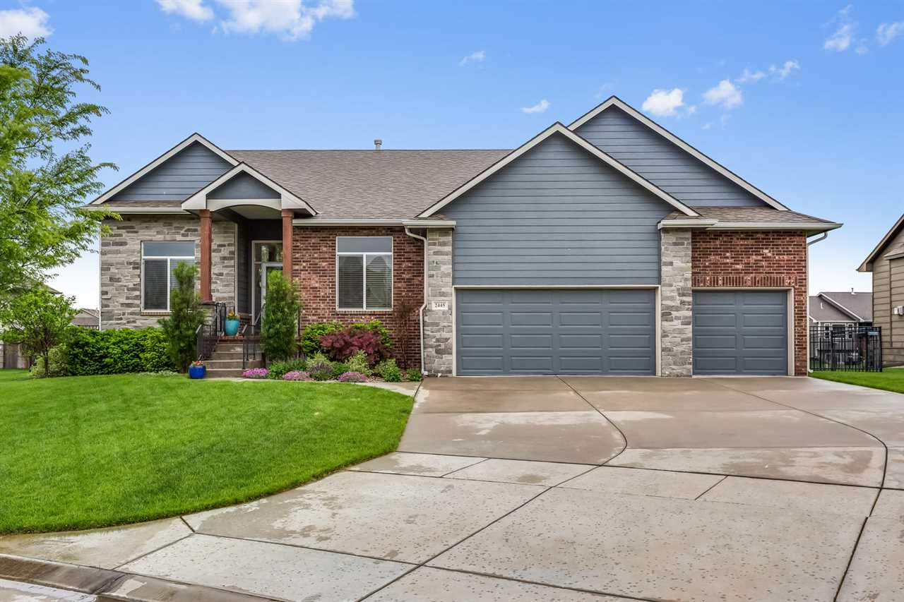 Welcome to your beautiful, clean, move-in ready home. Formerly an award winning model, this 5 bedroo
