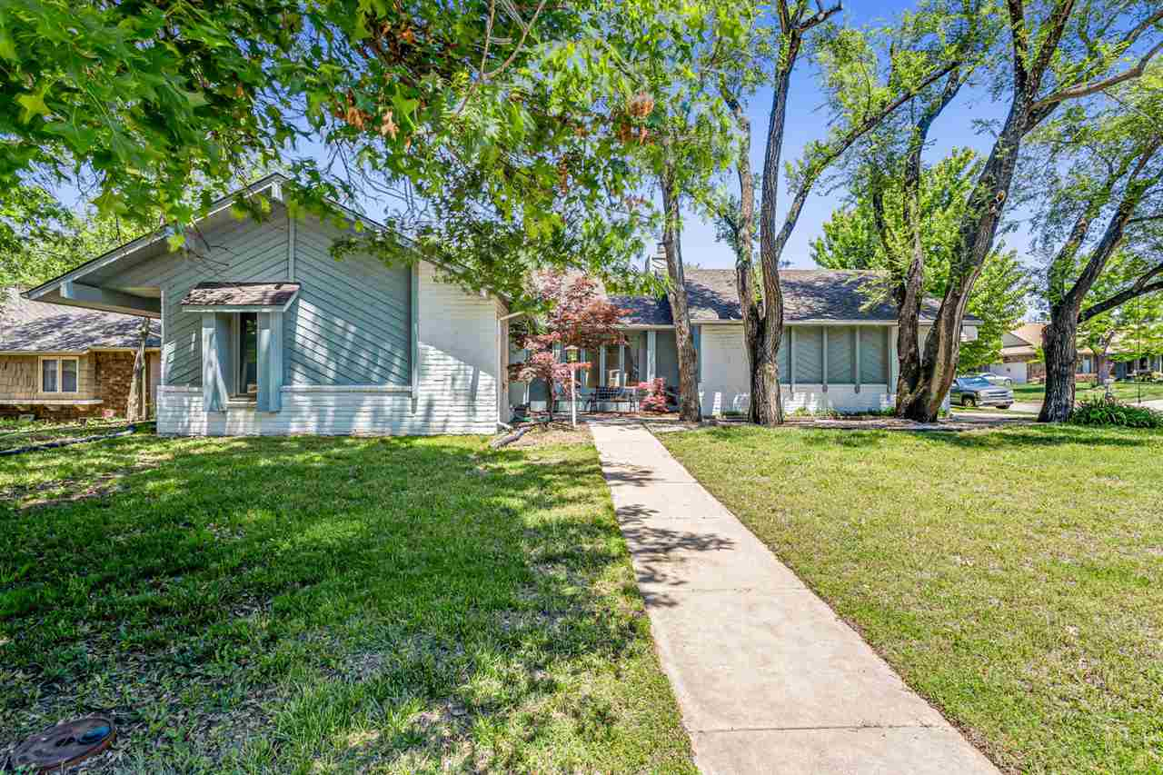 Curb appeal plus unbelievable space in this large ranch home that is walking distance to Tanglewood