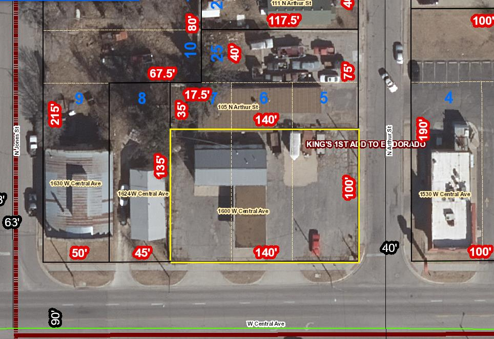 For Sale: 1600 W Central Ave, El Dorado KS
