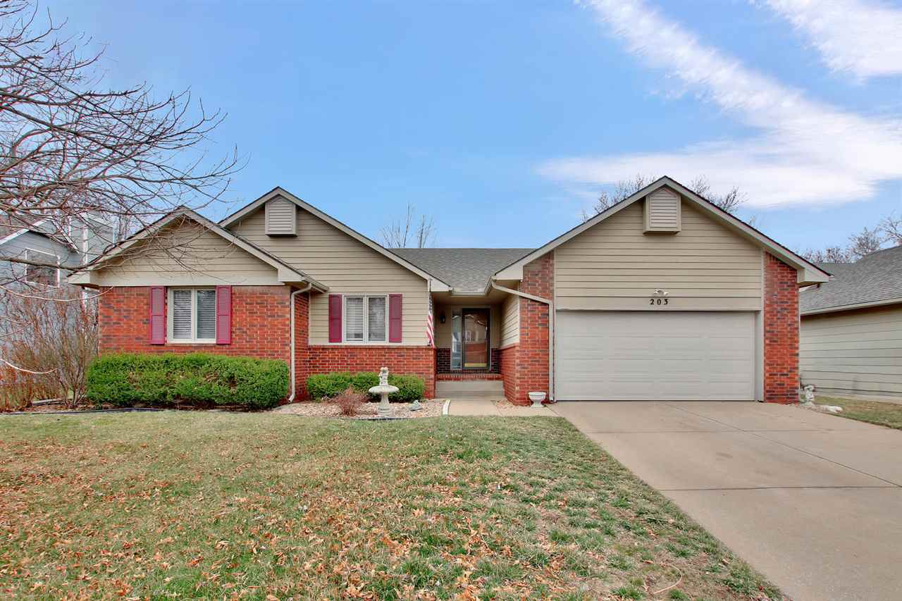 Lots of square footage in this West side home with equity just waiting for you when you start finishing the huge basement the way you want! The mail level has a large kitchen with newer countertops and stainless steel appliances.  The huge living room includes a wood-burning fireplace.  The master bedroom has a walk-in closet; master bath has double sinks and tub shower combo.  You will be quite happy with the sizes of the additional bedrooms on the main level.  They don't build homes like this anymore!  Main level laundry.  The perfect 13 x 15 covered and screened-in deck awaits you out back.  Privacy fenced, sprinkler system and nice landscaping.