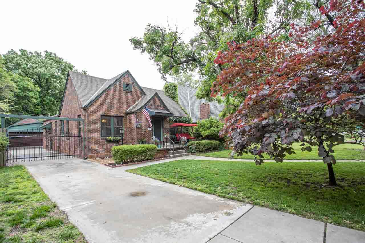 Schedule your showing today on this North Riverside charmer! This full brick Tudor-style home is jus