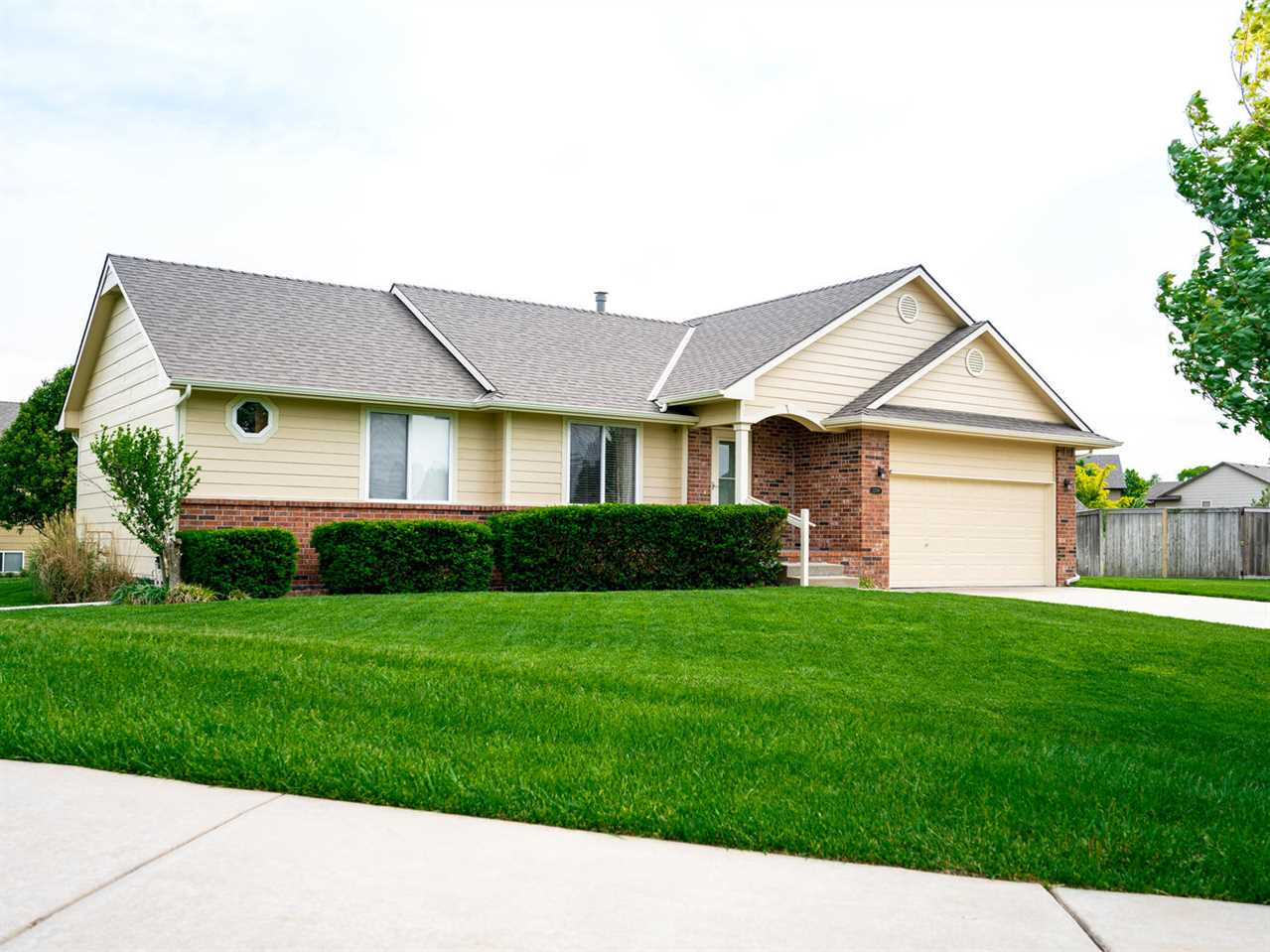 Beautiful home located in North East Wichita.  2 Bedrooms on the main floor, 1 Bedroom in the baseme