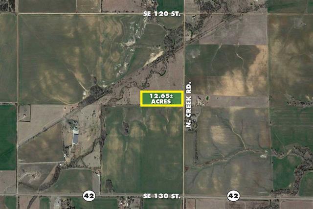 For Sale: 12.65 acres N Creek Rd., Norwich KS
