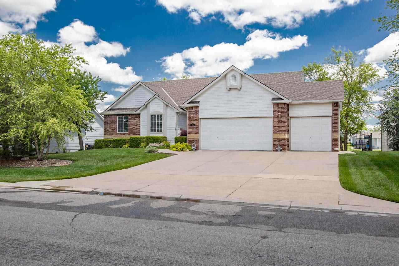Welcome home!  Beautiful 5 bedroom, 3 bath home built in 2003.  Spacious 3 car garage that includes