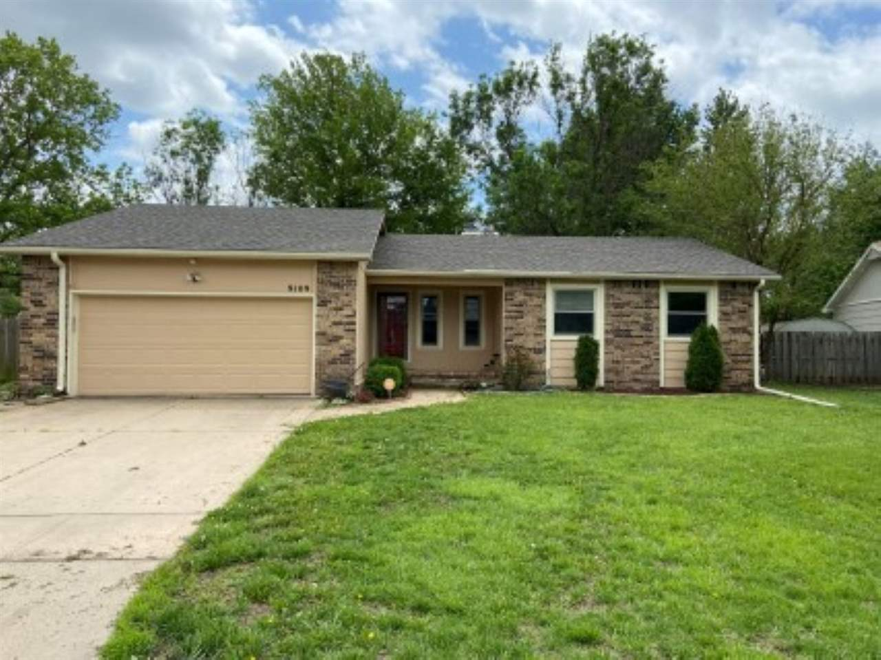 What a wonderful updated home in maize school district.  Updated kitchen and bathrooms make this old
