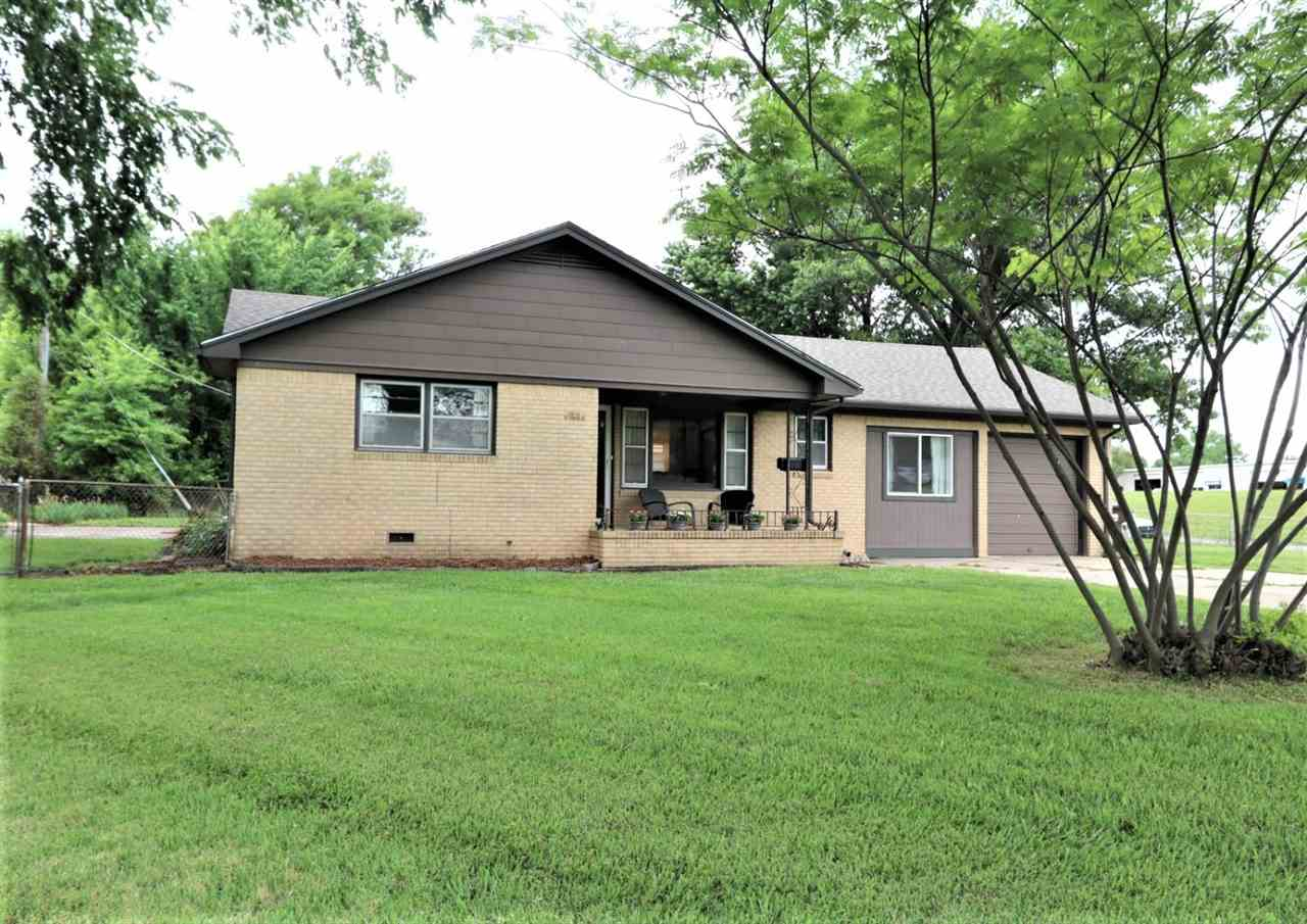 Must see spacious sprawling ranch home for sale in Mulvane. 3 good size bedrooms and a large master