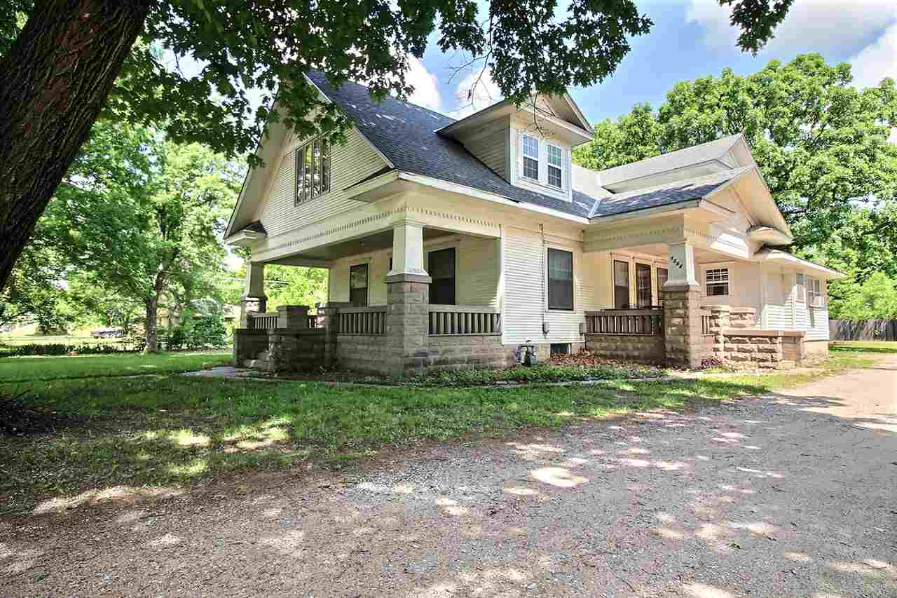 Well built 1912 home, sitting on almost a full acre! This home needs some TLC but has a TON of poten